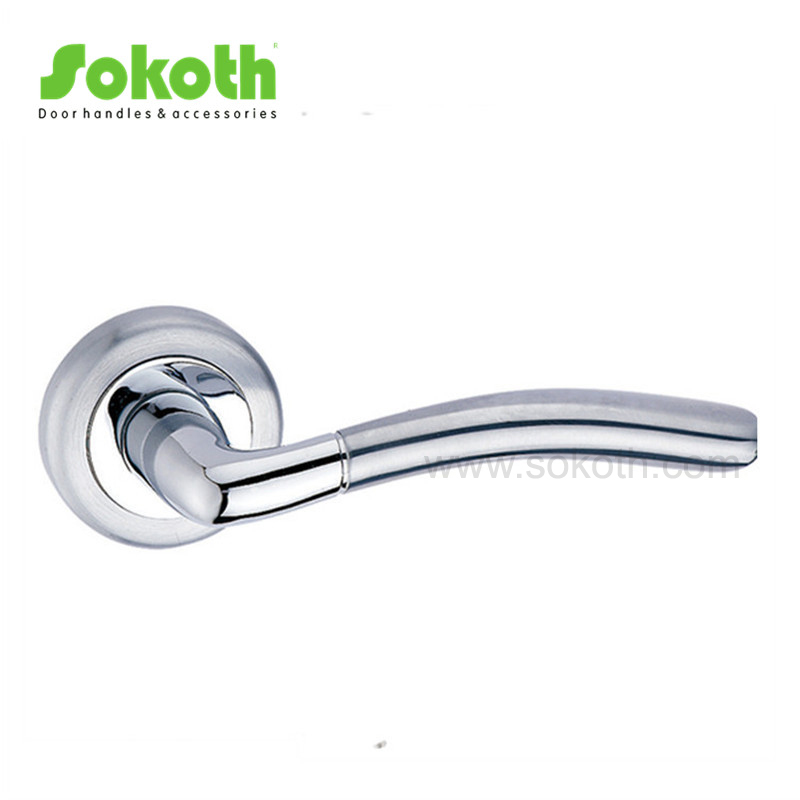ZINC ALLOY LEVER ON ROSE