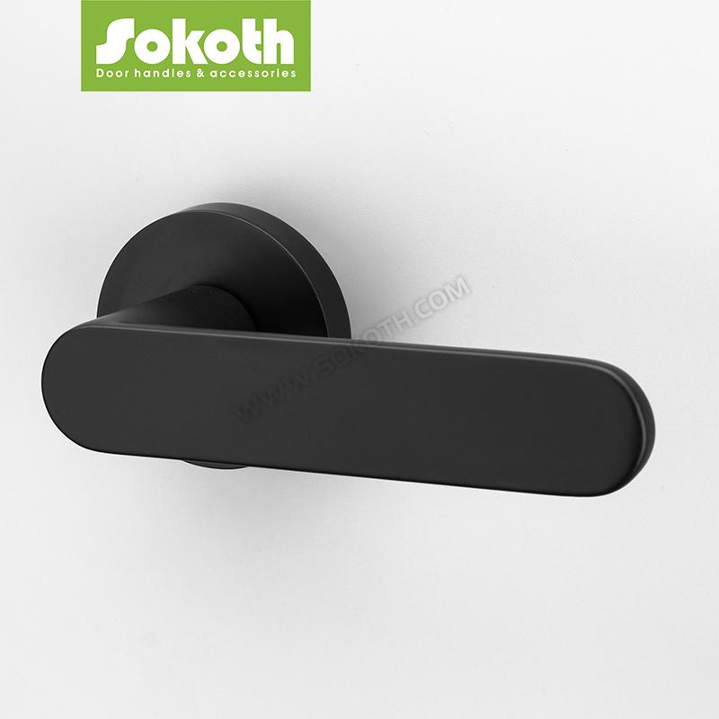 SOKOTH BLACK DOOR HANDLE SERIES