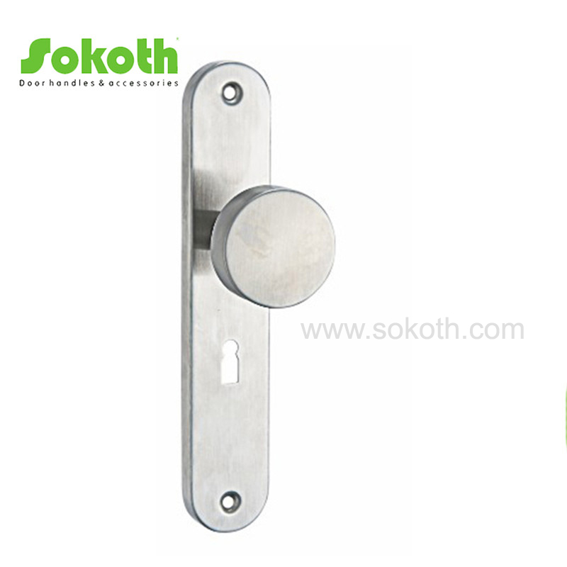 STAINLESS STEEL LEVER ON PLATE