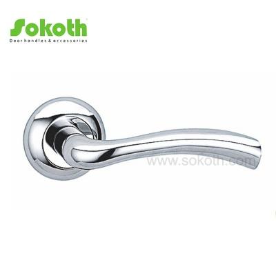 New Design Interior Hardware Aluminum Alloy Metal Lever Door HandlesSK-L033