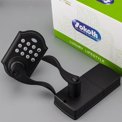 USA market high security electronic smart door lock intelligent electronic password code smart door lock