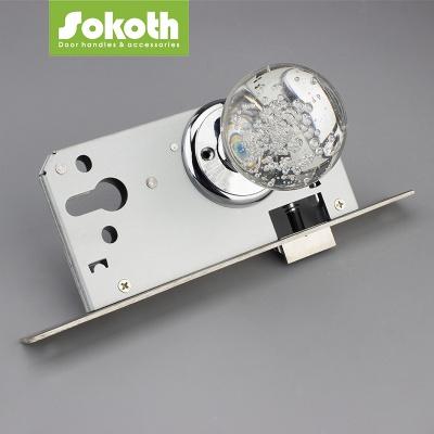 SOKOTH CRYSTAL DOOR KNOB WITH LOCKJ002