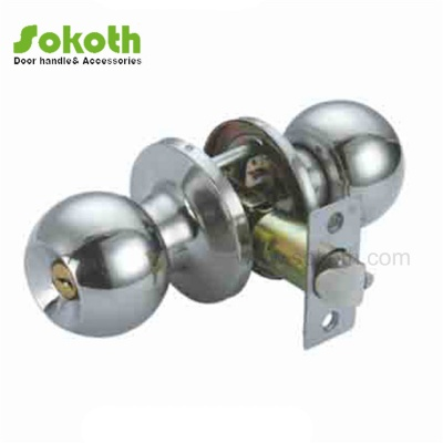steel knob with dfferent color of tubular typeSKT-607 PC