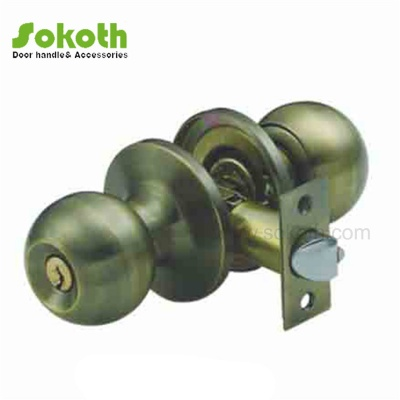 AB COLOR OF KNOB TUBULAR LOCKSKT-607 AB