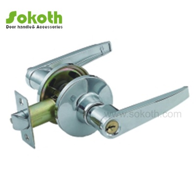 CHROME COLOR OF HANDLE TUBULAR LOCKSKT-3501PC
