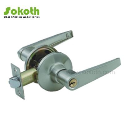 SATIN NICKLE COLOR OF HANDLE TYPE TUBULAR LOCKSKT-3501 SS