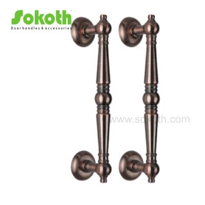 high quality zinc big long door pull handleH7