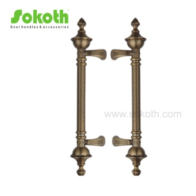 Hot brand quality door pull handle big zinc handleH5