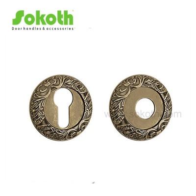 Cylinder hole door escutcheon classic designSKT-R06