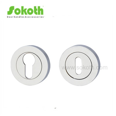 Key hole zinc alloy round escutcheonSKT-R01