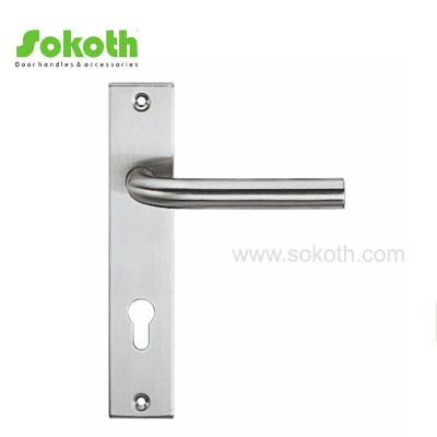 STAINLESS STEEL LEVER ON PLATES03S001