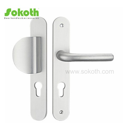 Modern Design Stainless Steel Lever on Stainless Steel PlateH01S001A