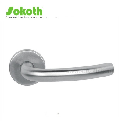Commercial Front STAINLESS STEEL Door Handles ON ROSESKT-S011 SS
