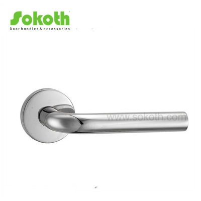 Modern Stainless Steel interior Door Handle on RoseSKT-S001 SS