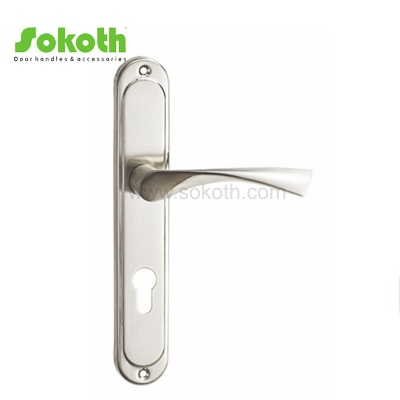 ALUMINUM ALLOY LEVER ON PLATE